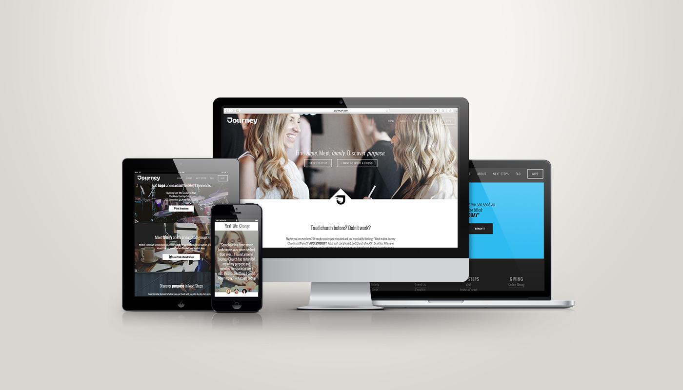 Squarespace Website Design Recap For Journey Church