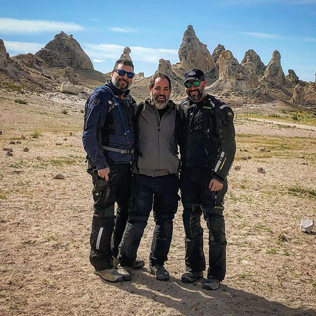 #brothers tradition - our yearly Moto trip. This year @ the  #tronapinnacles thanks to @rawhyde_adventures and their amazing coaches.