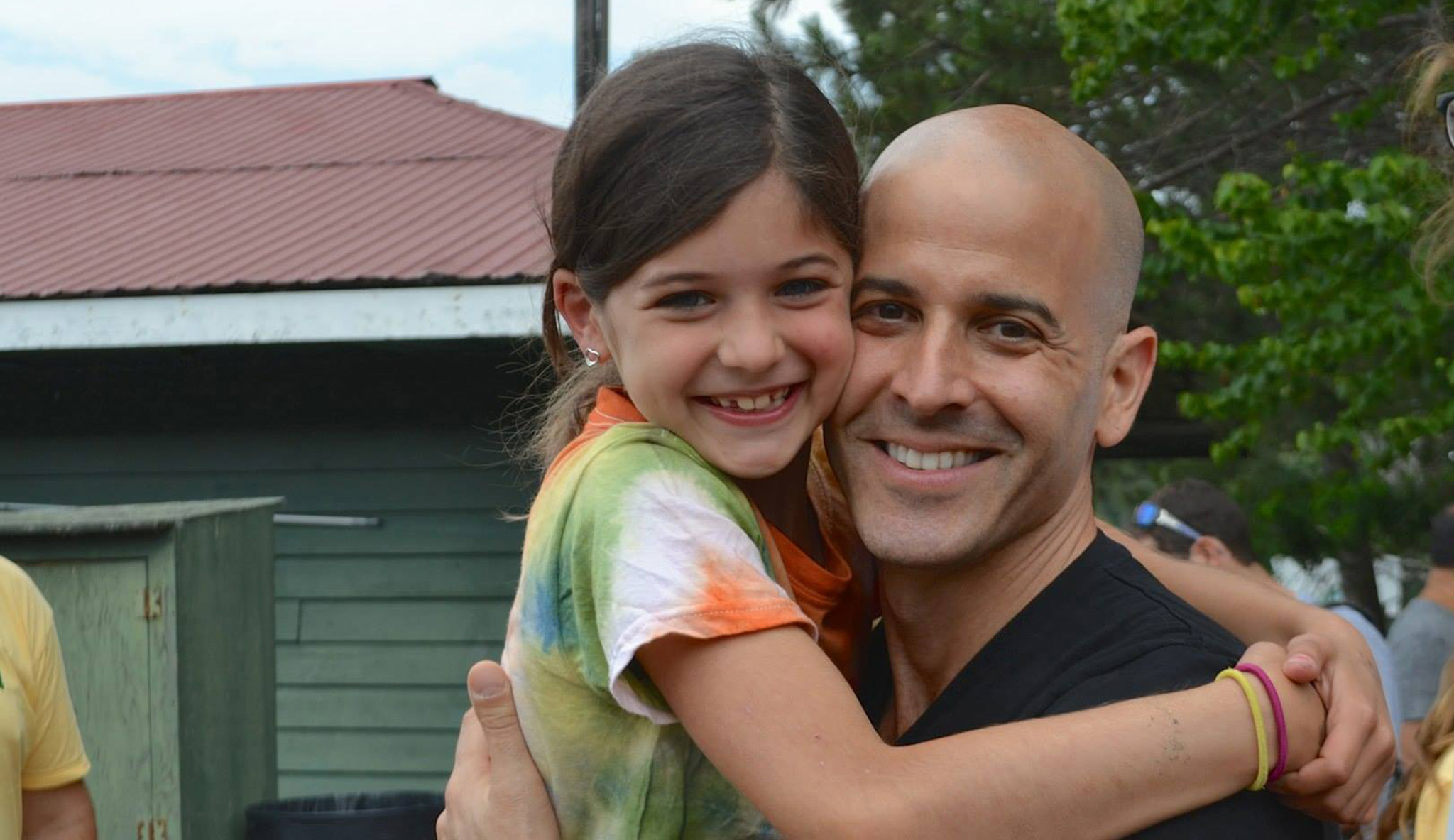 Mia and Anthony, July 2015 - Copyright FFFL