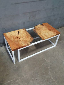 upcycled table - leslieville flea