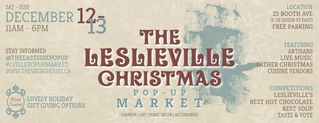 Leslieville Christmas Pop-Up Market