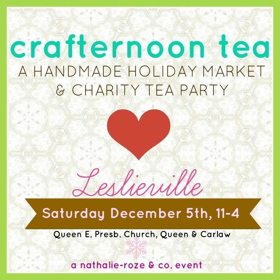 Crafternoon Tea 2015