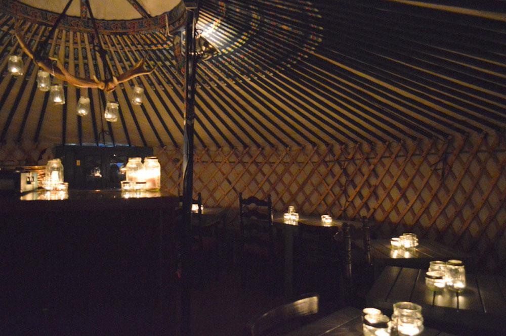 Ceili Cottage yurt