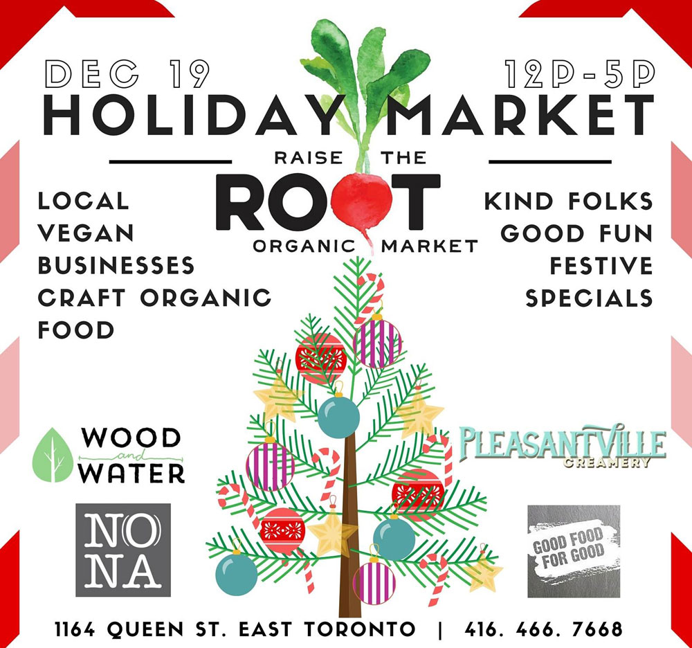 Holiday Pop Up at Raise The Root