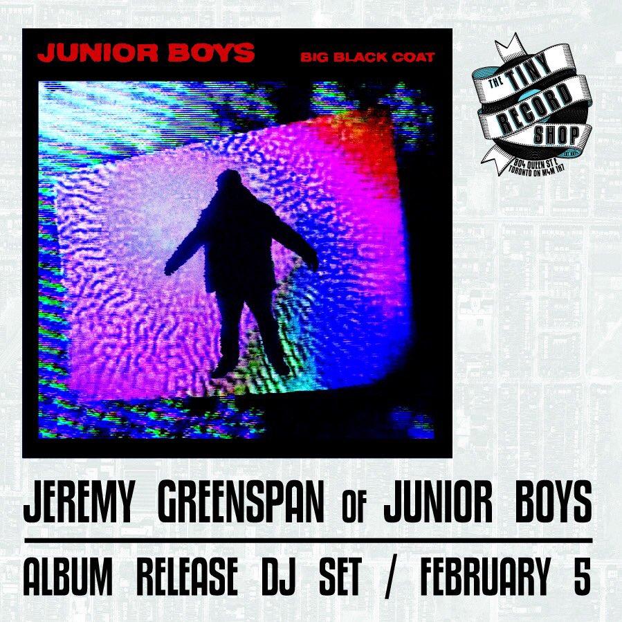 Tiny Record Shop - Junior Boys