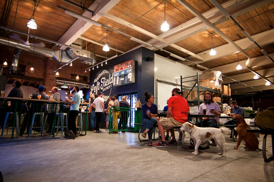 Photo:  Left Field Brewery