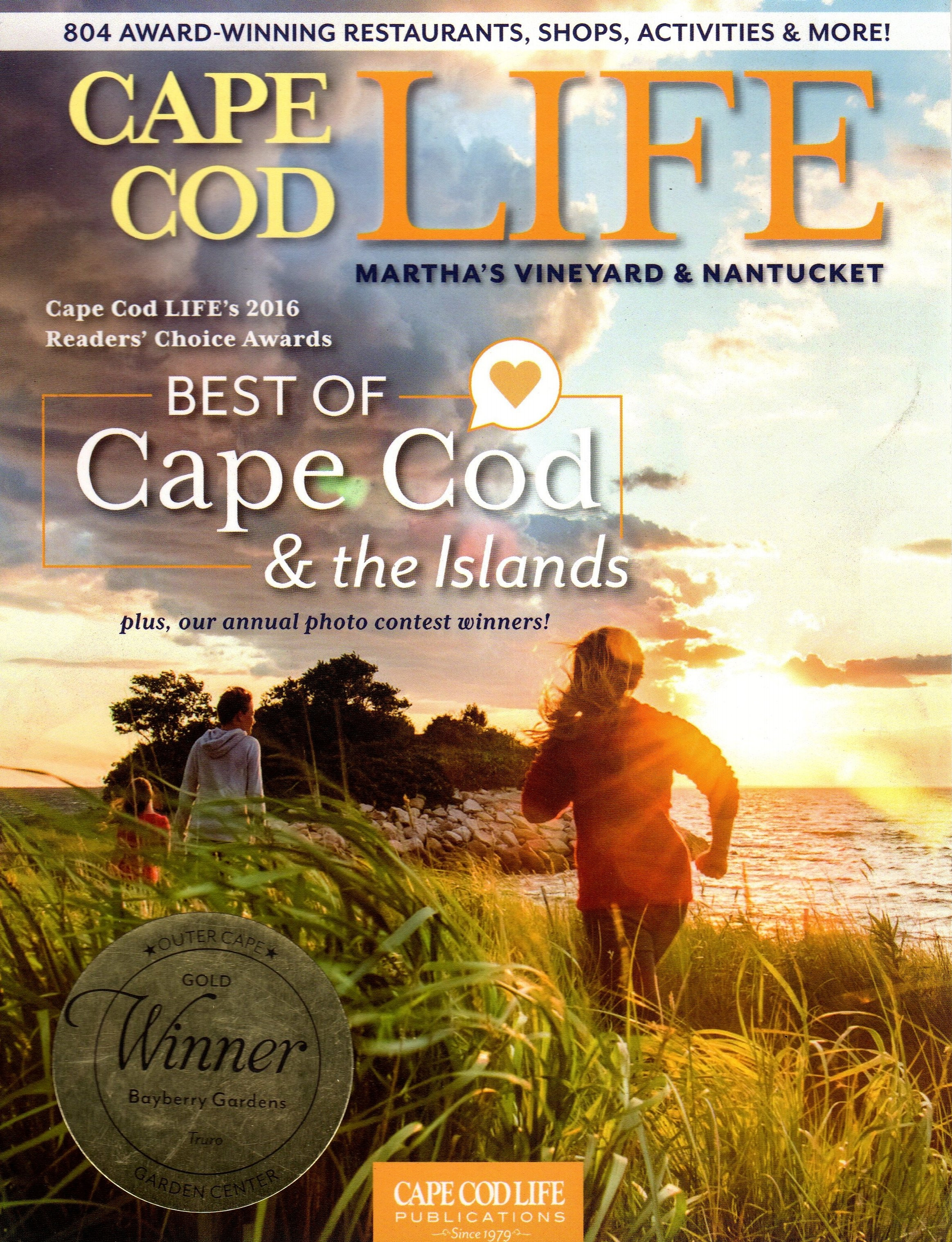 CAPE COD LIFE BEST OF 2016