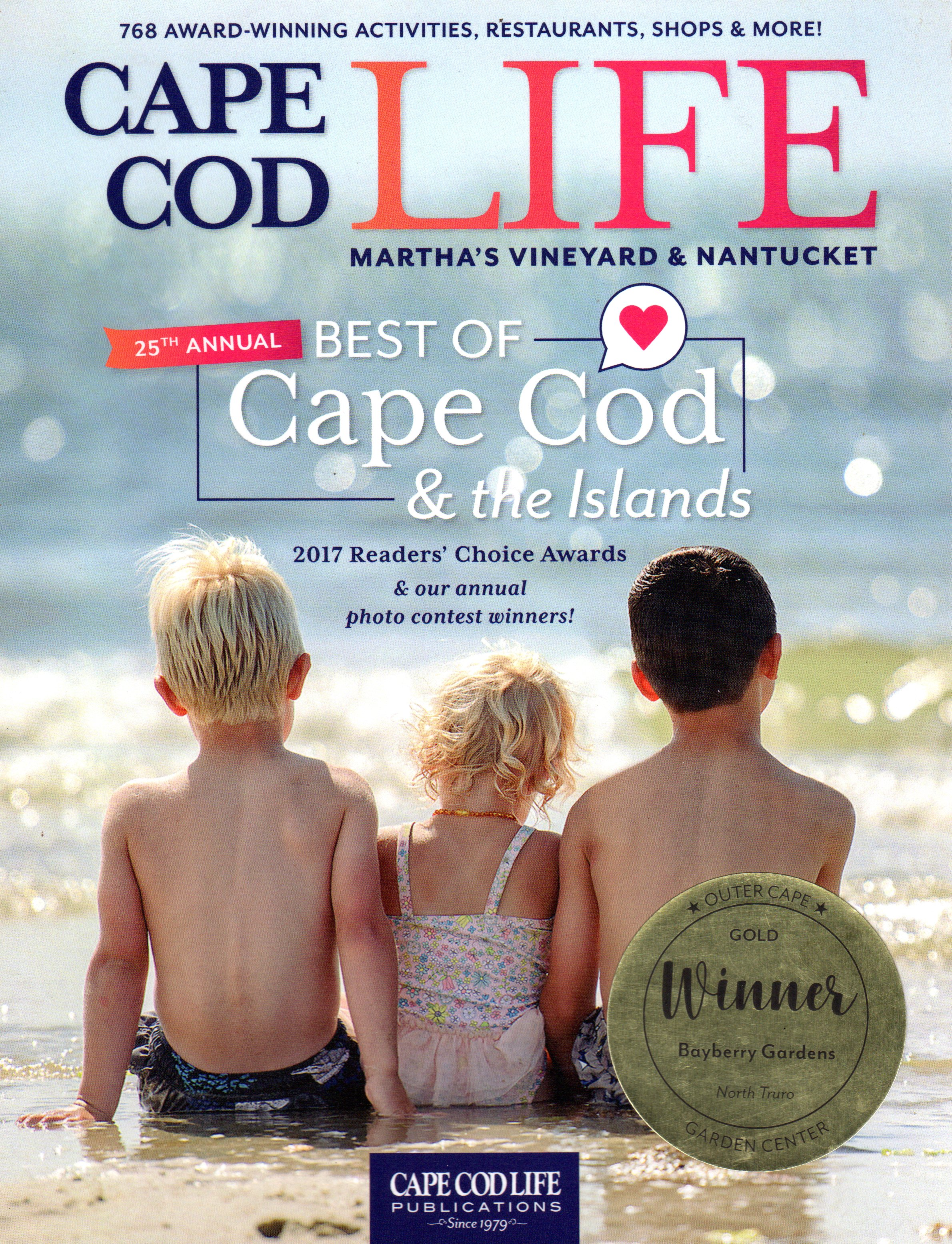 CAPE COD LIFE BEST OF 2017