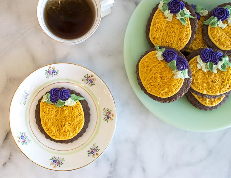 Hipster Pumpkin Cookies