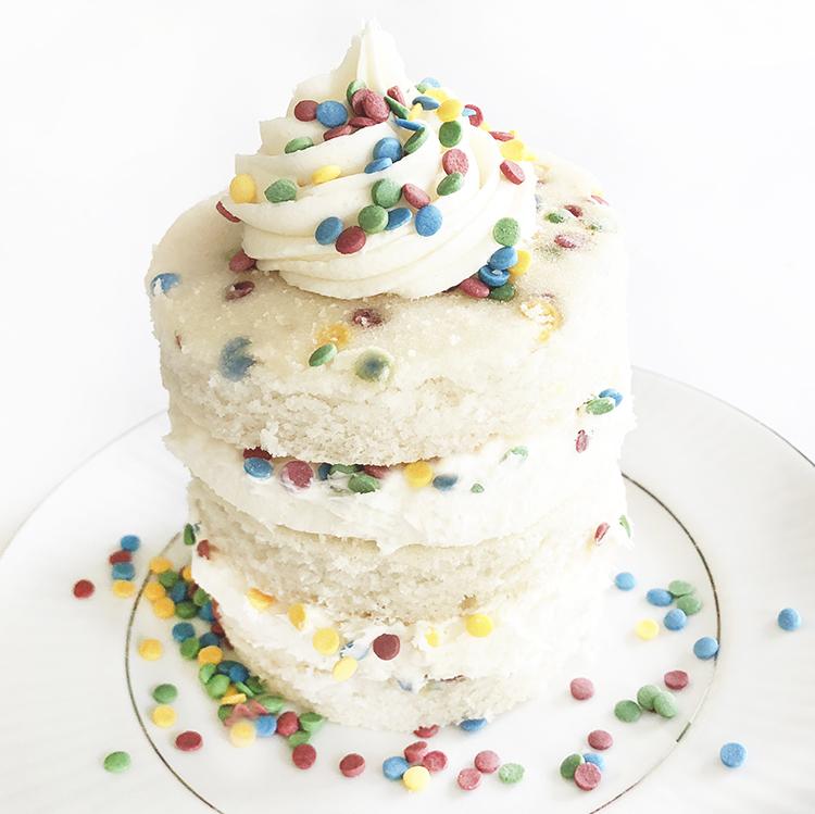 Milk Bar Confetti Funfetti Cake Gluten Free Birthday Cake