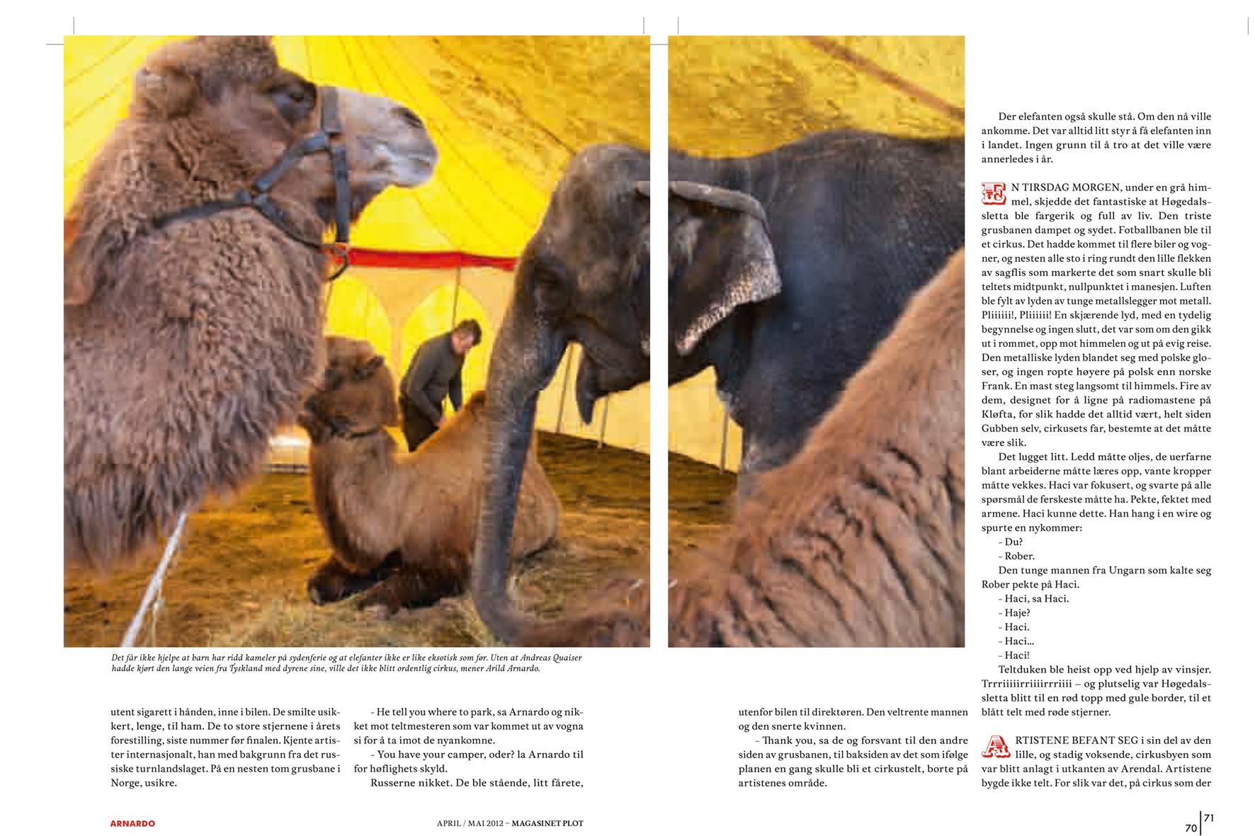 Plot documentary magazine