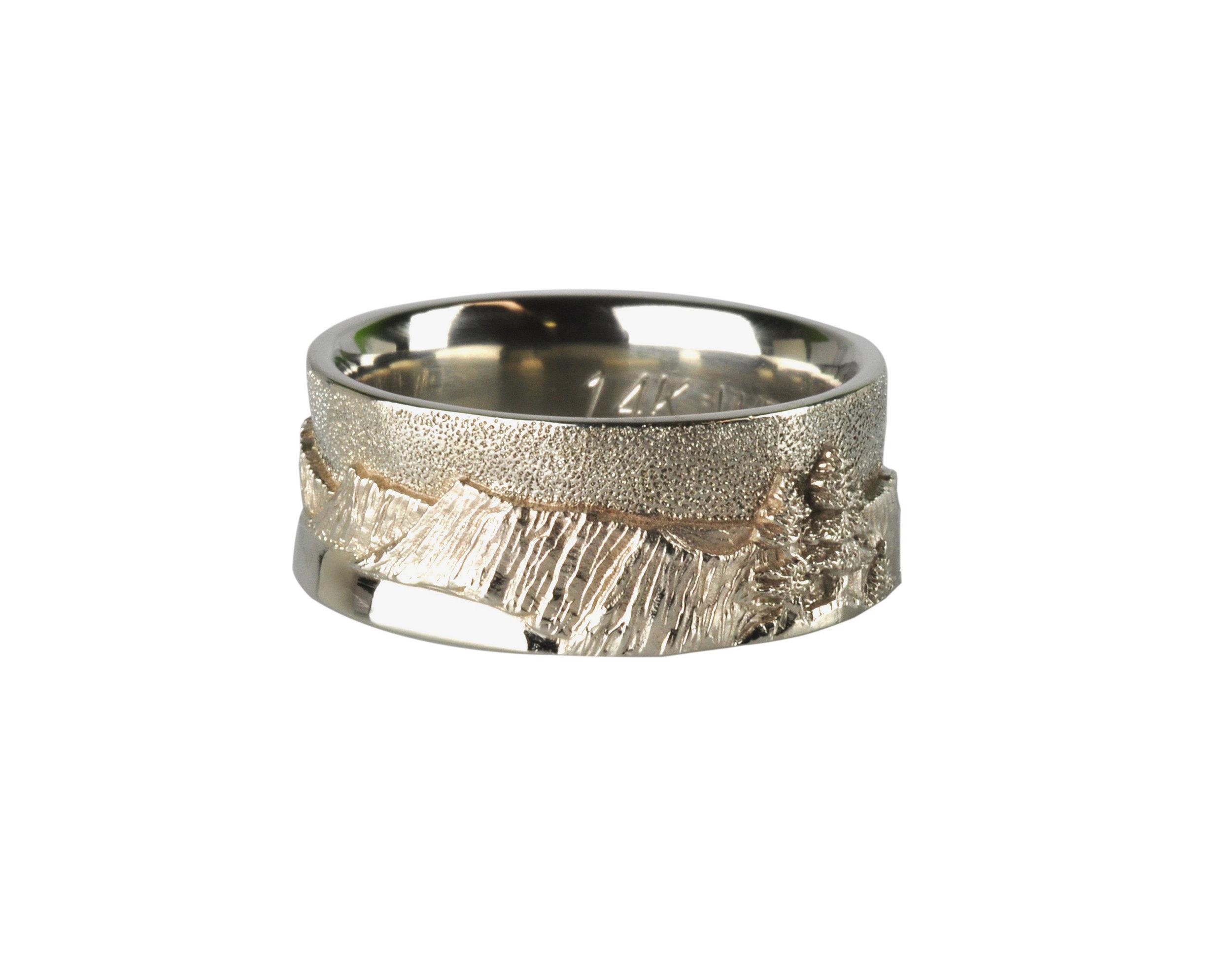 Crater Lake Landscape Ring