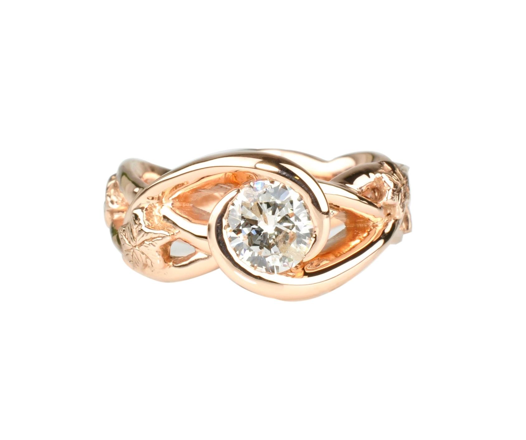 12k Rose Gold Ring