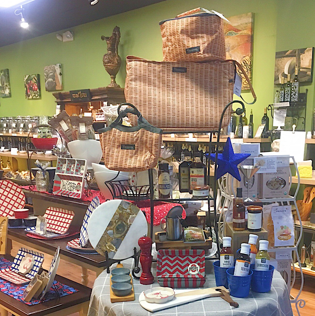 Featured Merchandise at The Olive Scene