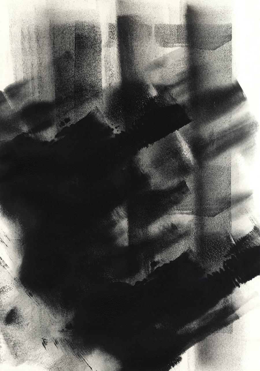 """""""Black #42"""", 2015"""
