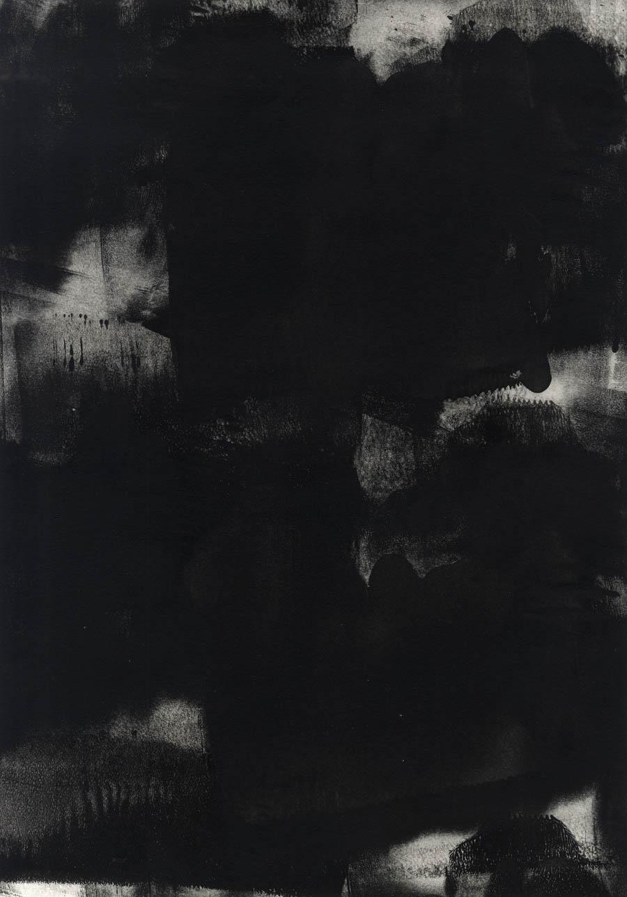 """""""Black #45"""", 2015"""