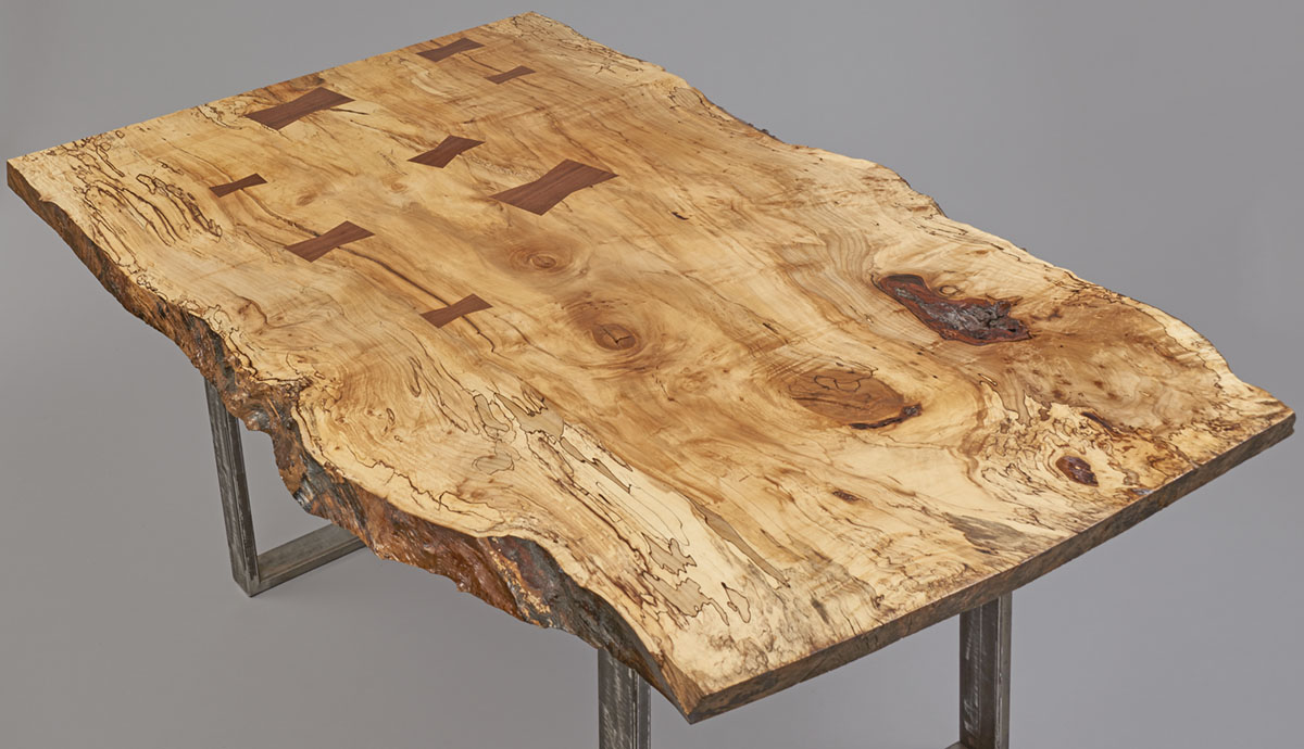 Spalted Maple Dining room table