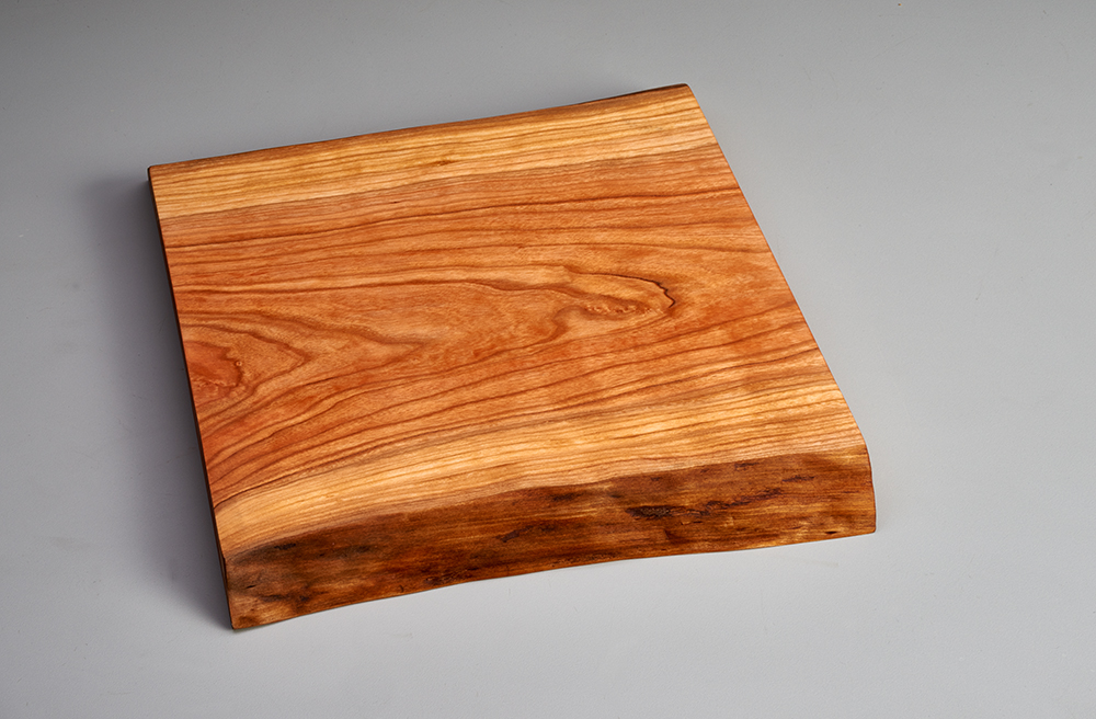 live edge serving tray