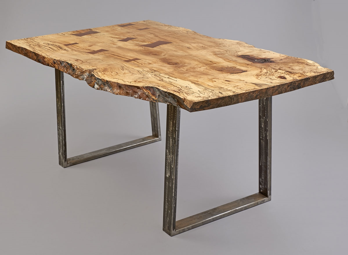 spalted maple dinning room table