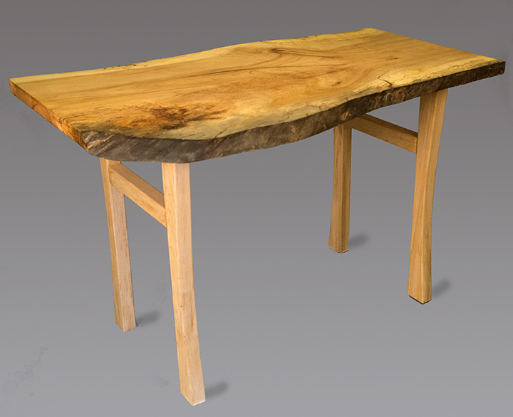Maple Coffee Table, custom made wooden legs