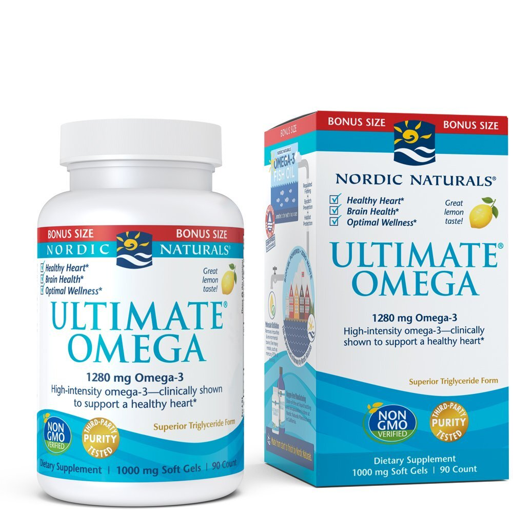 Ultimate Omega Fish Oil