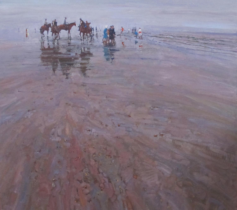 Oil on Linen /  31.5 in x 31.5 in