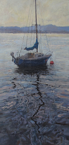 Mast, oil on linen, Best in Show
