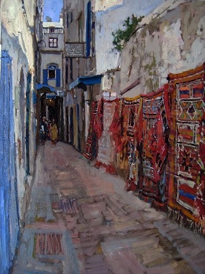 Rugs and Tapestries of Essaouira