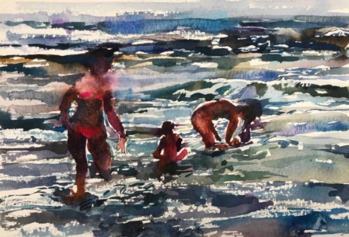 Beach Series, VI