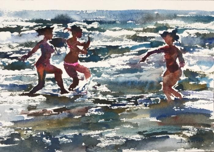 Beach Series, VIII