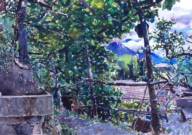 Aurelio's Garden, Switzerland
