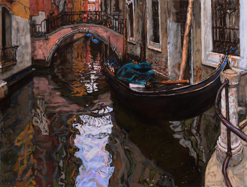 Side Canal, Venice