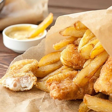 2018 is going to be extra delicious!  #richardsonfoodies #richardson #eatdallas #citylinedfw #dinecityline #fishandchips #trickyfish #dallas #dallasfoodies #richardsonliving