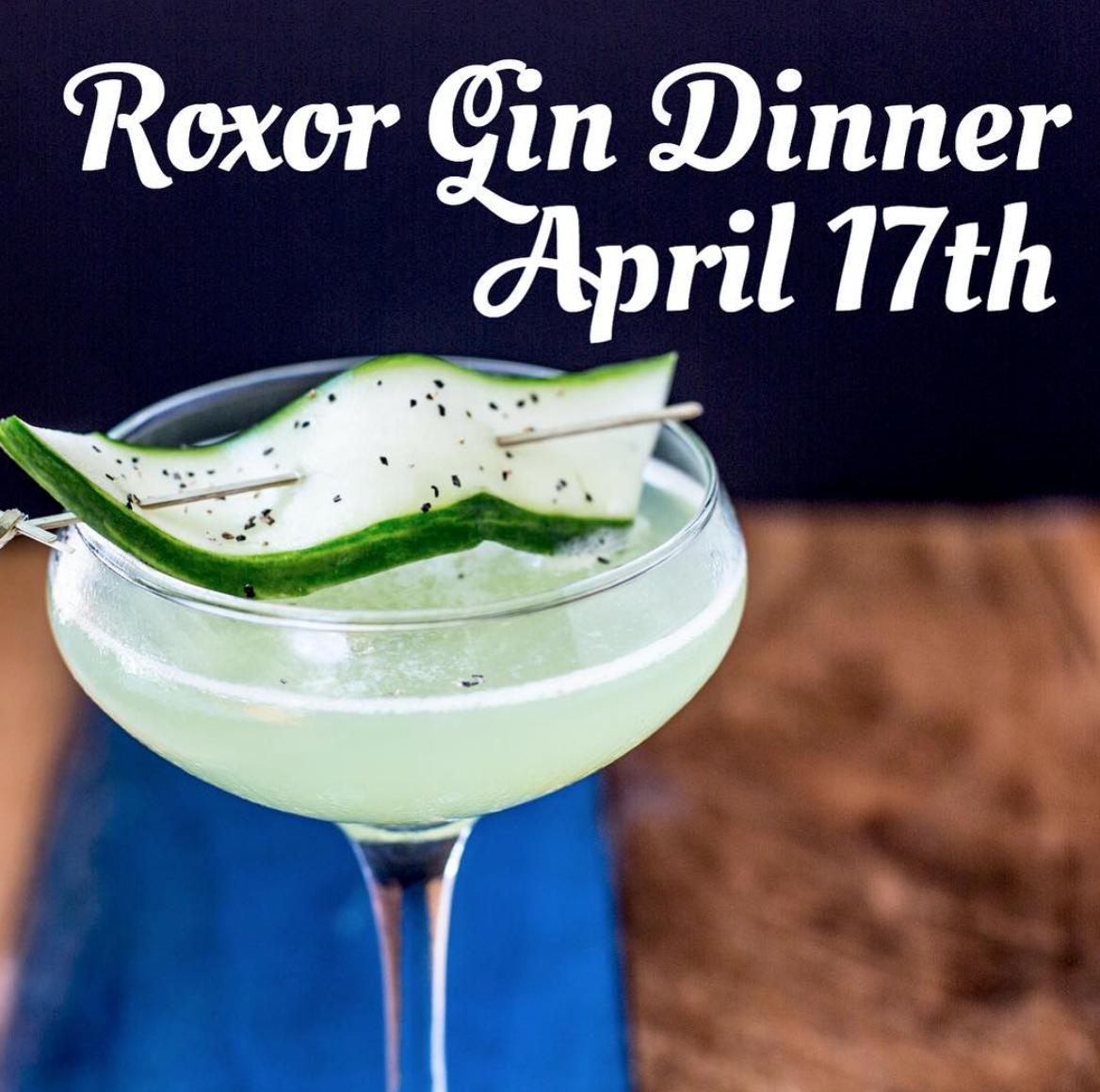 Roxor Gin Dinner