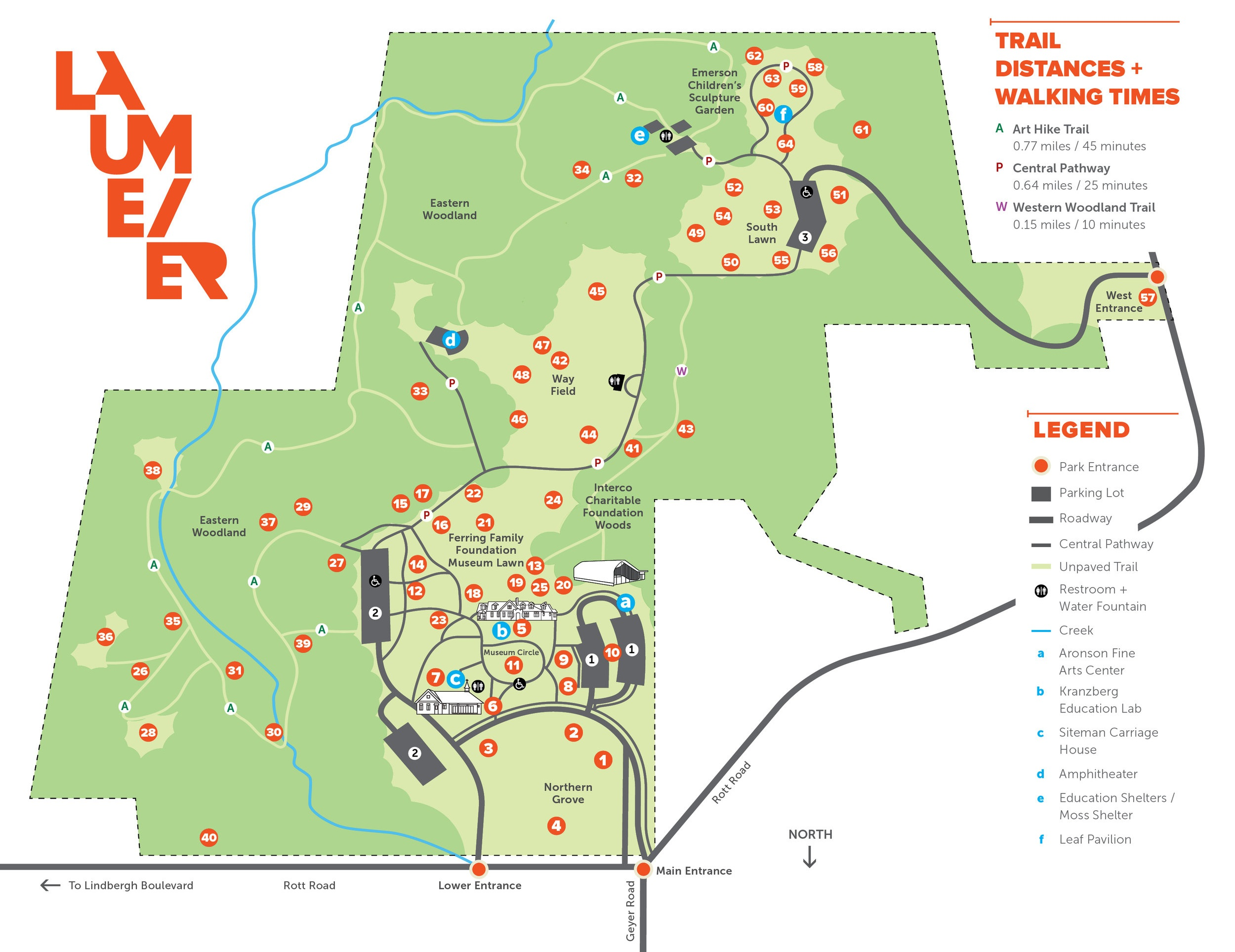 Download the Full Printed Park Map