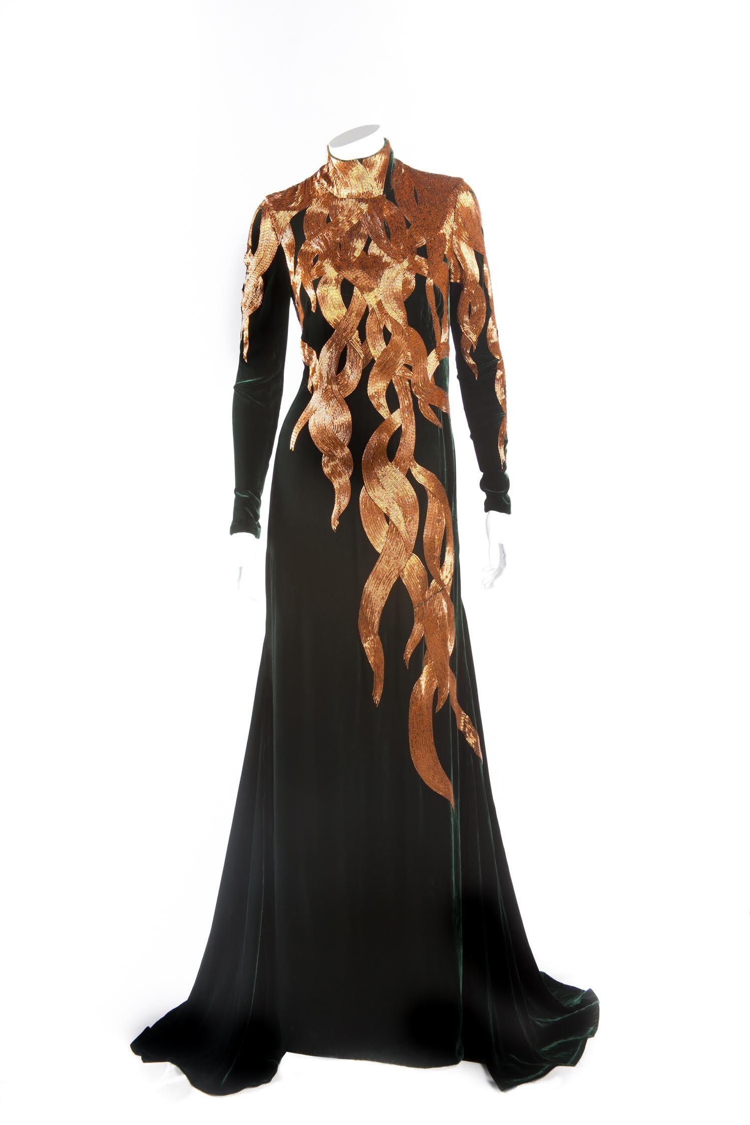 Alexander McQueen,  Gown