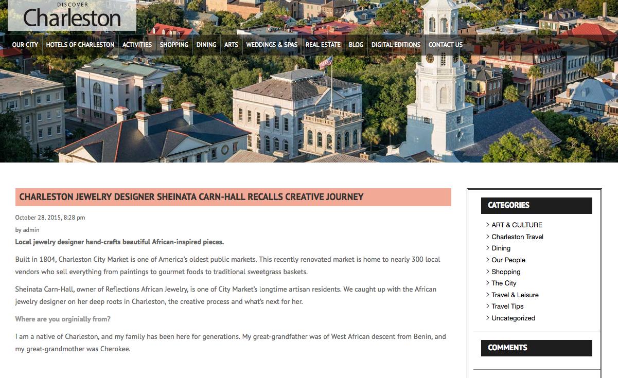 Discover Charleston Oct. 28, 2015-2016