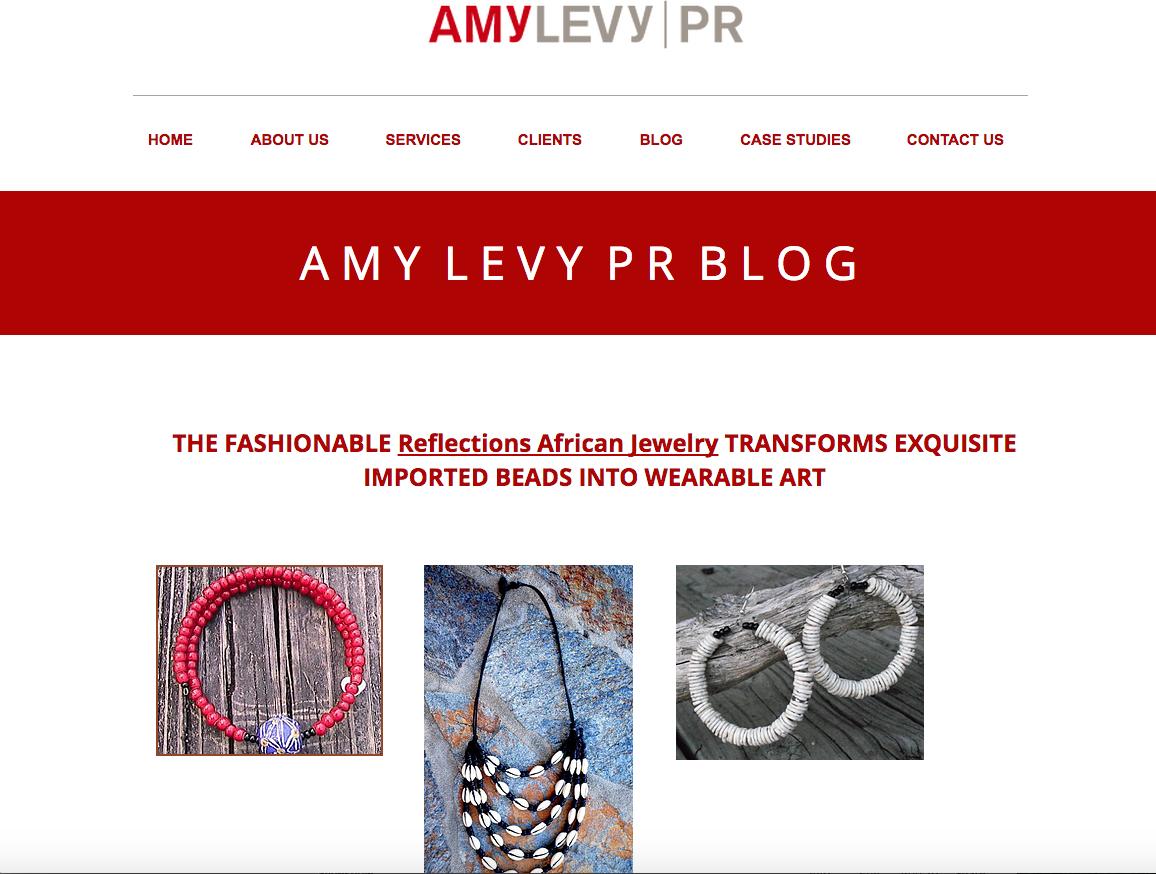 Amy Levy PR Blog April 10, 2015
