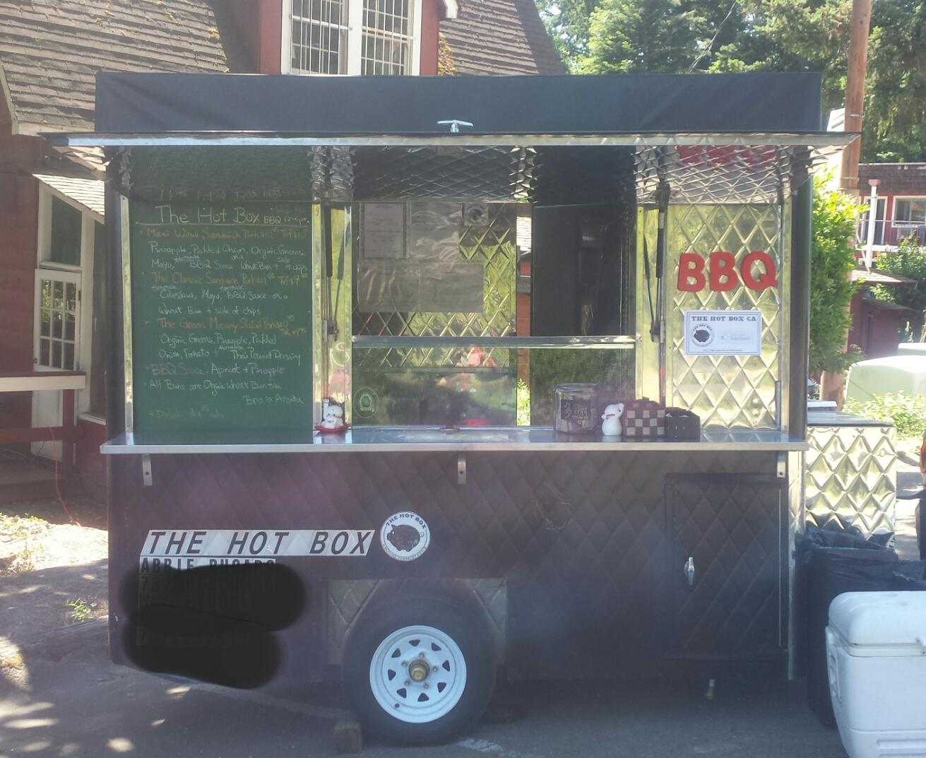 Theoriginal Hot Box Food Cart.
