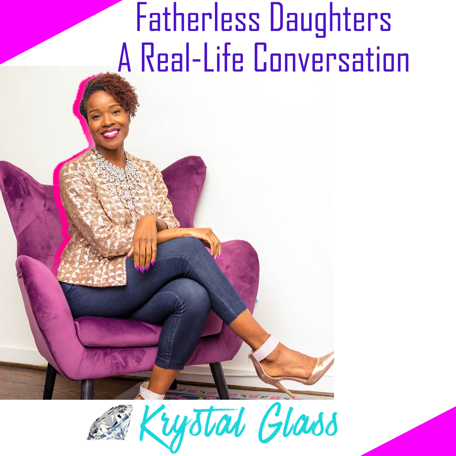 A Real-Life Conversation about being raised fatherless - Fatherless Daughters are women that grew up without a father and has directly or indirectly experienced unresolved daddy-issues. he reality is not all women who grew up without a father has side effects. But for many there are emotional side effects and mental roadblocks caused by not experiencing a father's love. Tune-in to hear the diverse experiences of women (some who grew up with a father and some who grew up without a father) share their perspective on how having or not having a father has impacted their relationships and outlook on men.