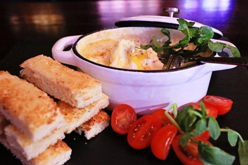 Eggs en Coccette