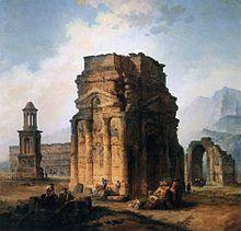 Hubert Robert ruins