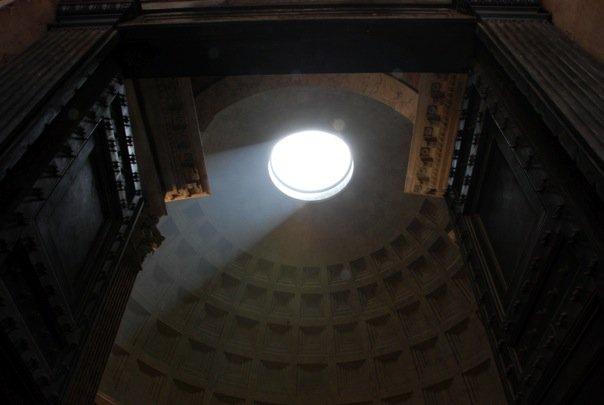 Oculus Parthenon Rome