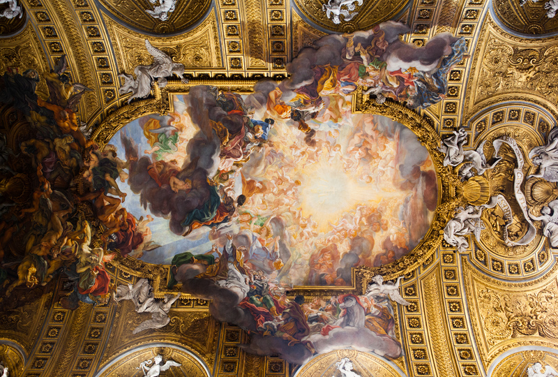 Gaulli, church of Il Gesu, Rome