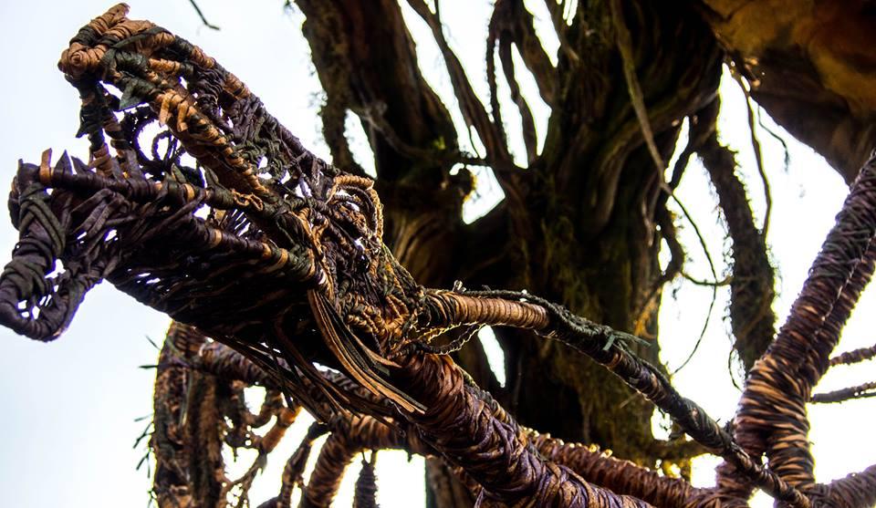 Banshee braided sculpture