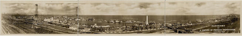 Panorama of 1933 Century of Progress