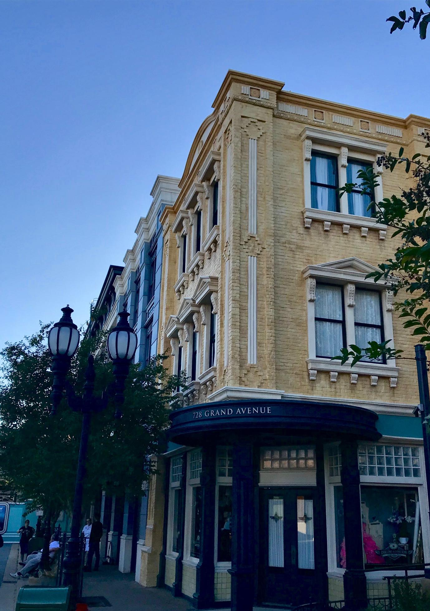 Grand Avenue shops