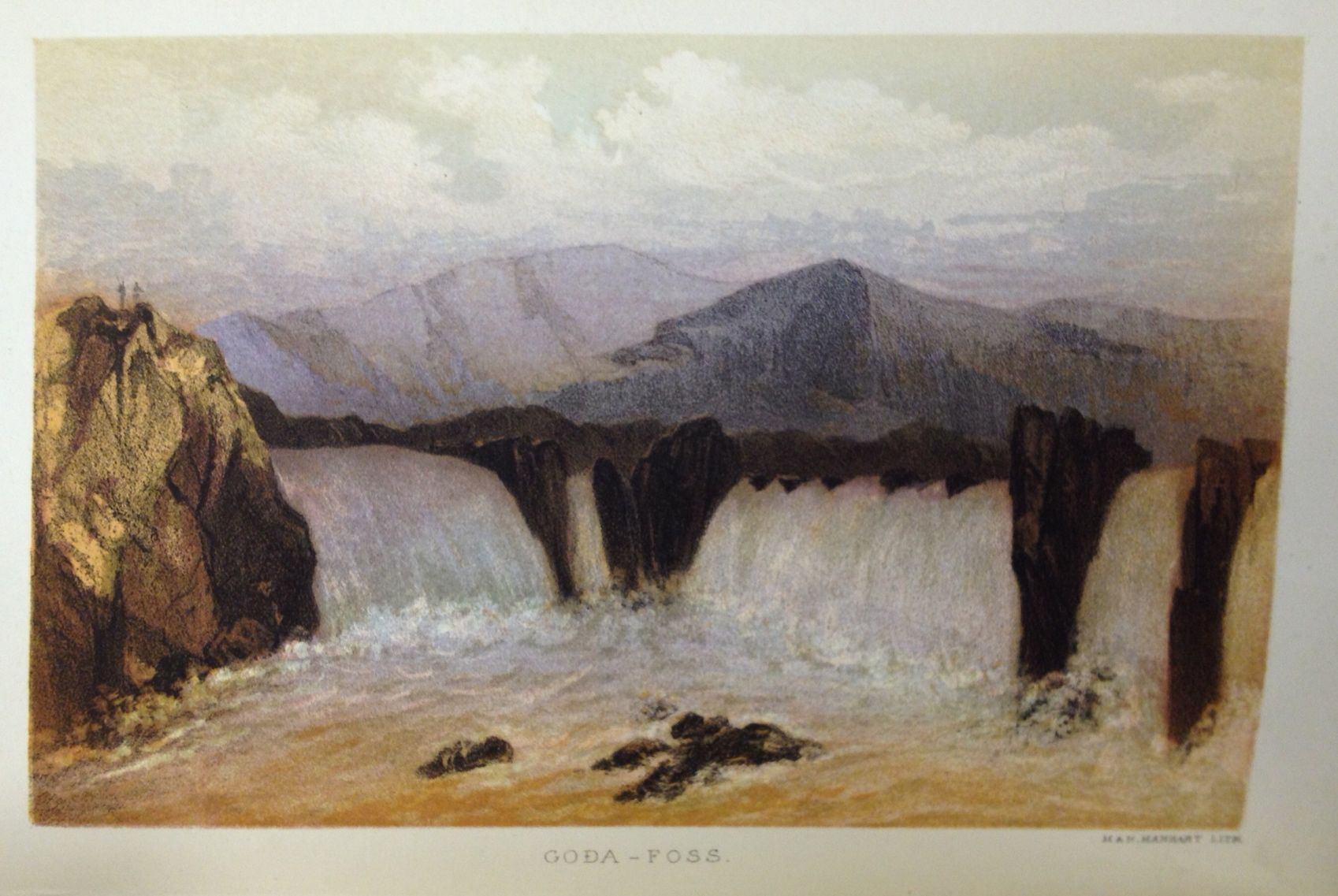 Illustration from SHEPHERD, C.W., The North-west Peninsula of Iceland. London: Longmans Green, 1867.  All of the images here were snapped with my iPhone, courtesy of the Library Company of Philadelphia.