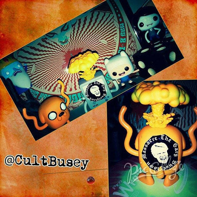 #AdventureTime and #Busey together!? That would be amazing! Email us if you'd like us to send you some stickers! #GBTM