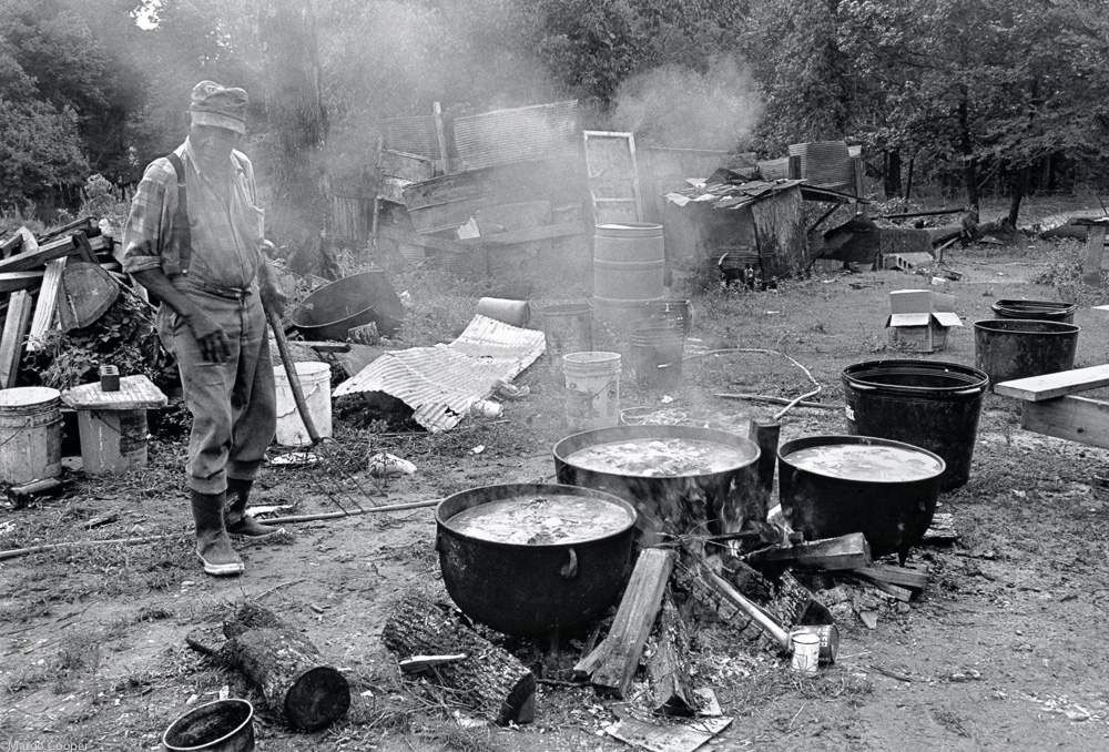 Otha Turner, Goat Barbecue, Gravel Springs, Mississippi   © Margo Cooper All Rights Reserved. No part of this website may be reproduced, stored in a retrieval system, or transmitted in any form without prior written permission.